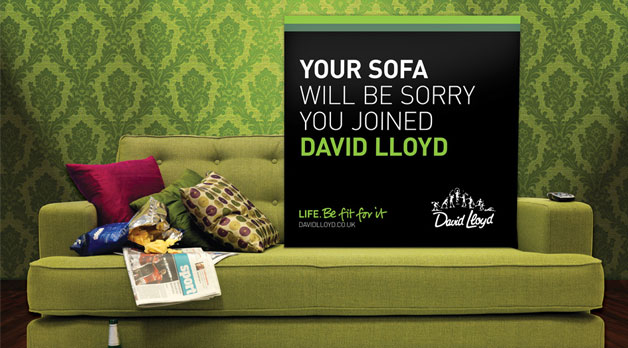 Your sofa will be sorry you joined David Lloyd
