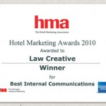 HMA Award Winner December 2010