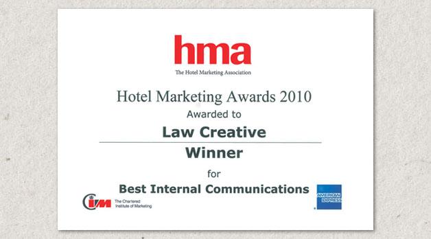 HMA Award Winner December 2010