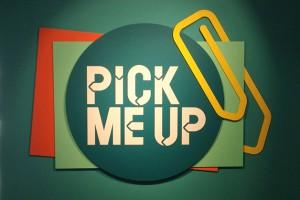 A graphic design 'Pick Me Up'