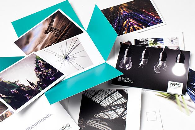 Hotel Indigo Print Design