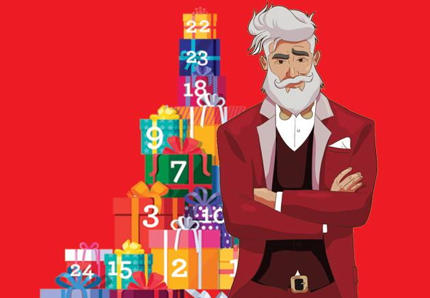 Meet Santa – Shaken, not stirred