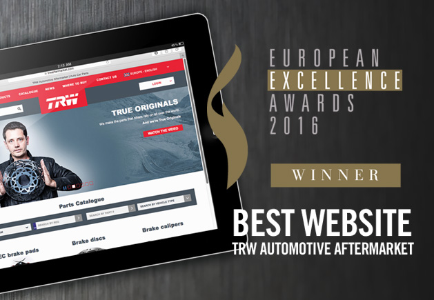 LAW WINS EUROPEAN EXCELLENCE AWARD